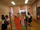 中学生の展示