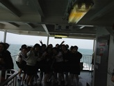 船の中の一コマ