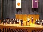 中学入学式3