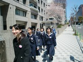 中学入学式5