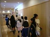 生徒会による学校探検