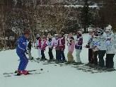 スキー教室2日目④