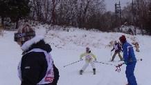 スキー教室2日目①