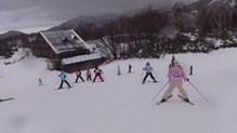 スキー教室2日目⑤