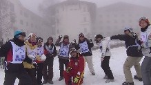 スキー教室2日目⑥