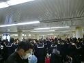 東京駅集合、全員無事出発できました