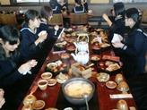 昼食の湯豆腐定食