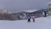 スキー教室の様子