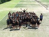 テニス部合宿1