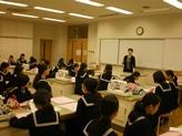 授業風景 中1家庭科