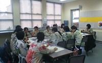 美術の授業風景②