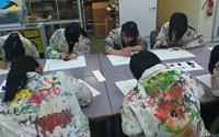 美術の授業風景①