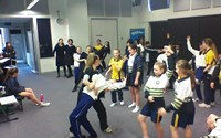 ダンスの授業