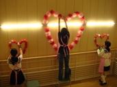 第1会場(校舎)装飾②