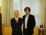 橋爪先生(左)と桜井先生(右)
