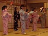 日本舞踊部の雅な踊り