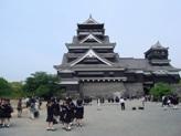 どっしりと構える熊本城