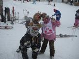 スキー最高!